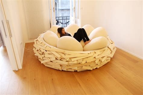egg bed comfortable and modern furniture for living home and