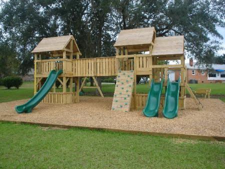 Big Backyard Lexington Wood Gym Set Home Built Swing Sets Google Search 遊具 Pinterest