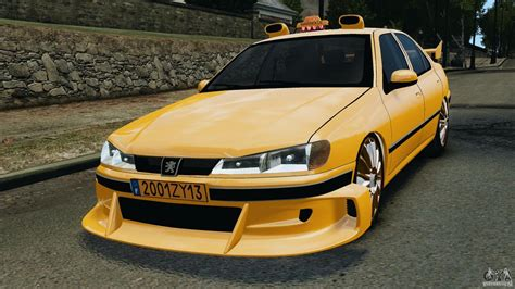 peugeot taxi peugeot 406 taxi for gta 4