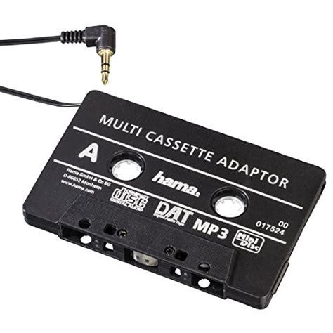 Power Supply 5er hama kfz kassettenadapter smartphones mp3 cd player ipod tablets am autoradio mit 3 5 mm
