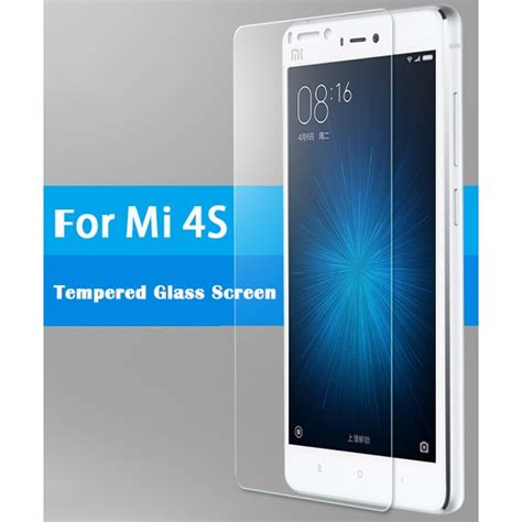 free anti scratch oleophobic coated tempered glass screen protector for xiaomi mi 4s