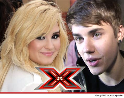 justin bieber on x factor audition demi lovato disses justin bieber at x factor