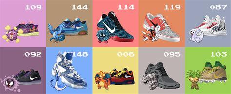 Renovate by Pokeid Users Pair Pok 233 Mon With Custom Nikeid Kicks