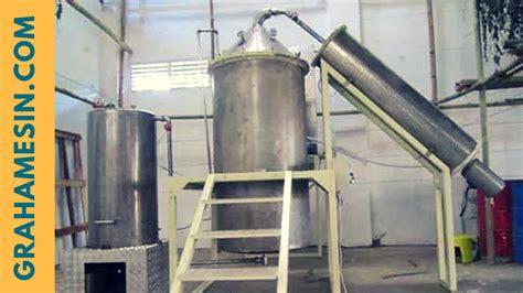 Mesin Destilasi Minyak mesin destilasi sistem boiler pengolahan minyak atsiri