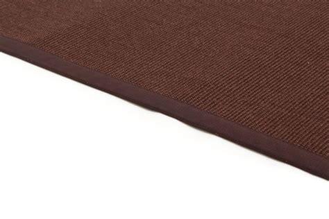 sisal teppiche sisal teppich quito dunkelbraun trendcarpet de