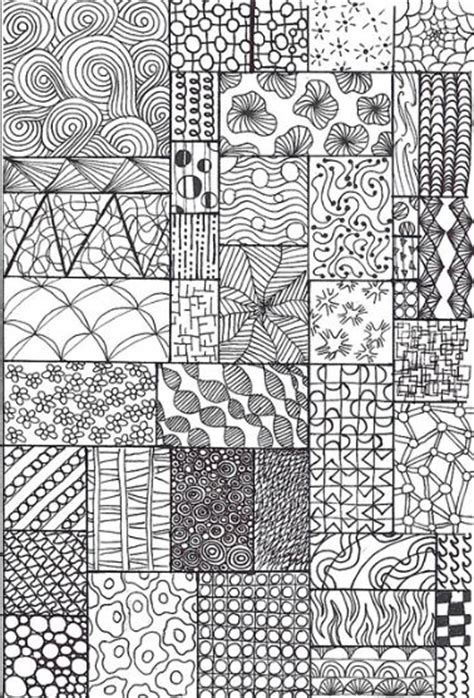 doodle patterns meaning zentangle patterns education stuff