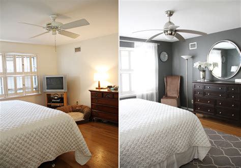 before and after bedroom makeovers photos and video running from the law master bedroom makeover before after