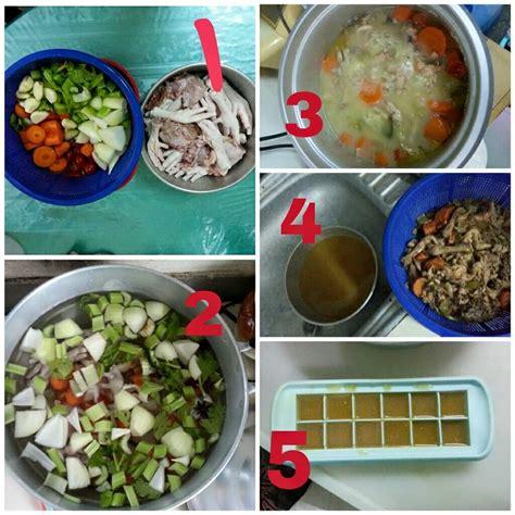 cara membuat kaldu ayam untuk bayi 8 bulan cara buat stok ayam bilis untuk bubur bayi tanpa garam