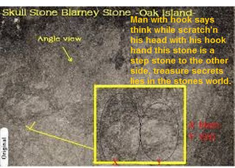Mystery At Crown Island oakisland treasure lies in skull stones image keith