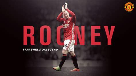 Manchester United Rooney as 237 se despide el manchester united de wayne rooney
