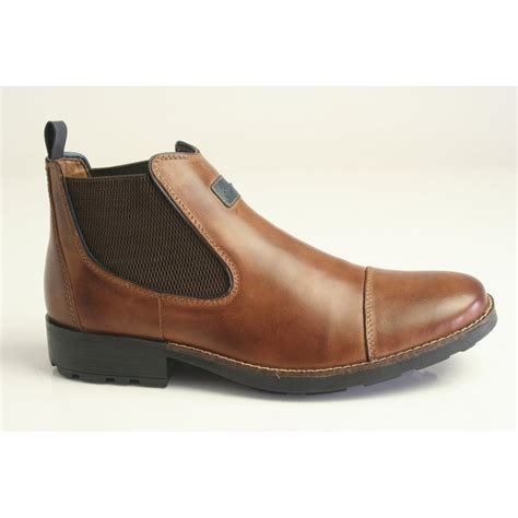 rieker mens boots rieker rieker s leather chelsea boot in with