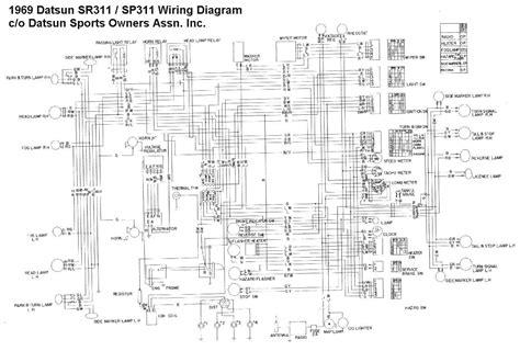 nissan 1400 ch wiring diagram