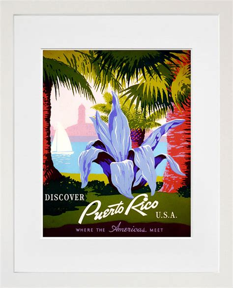 puerto rican home decor puerto rico travel poster home decor wall art by blivingstons