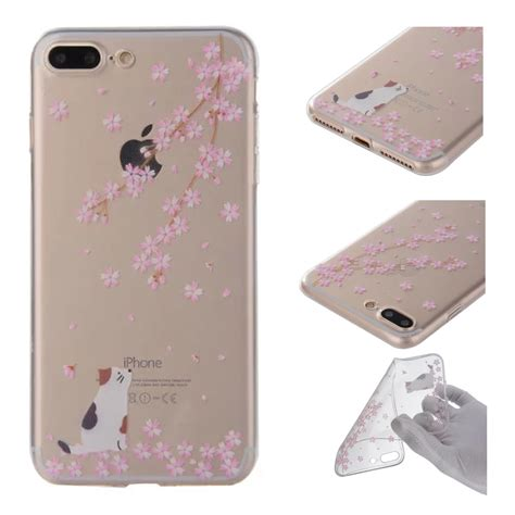 painted pattern silicone tpu soft back cover for iphone 7 7 plus 6 plus 5 6 ebay