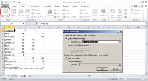 how to build a pivot table microsoft excel how to convert a table into summary as