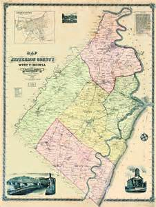 maps of virginia and jefferson county west virginia