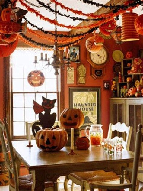 halloween home decoration ideas 20 vintage halloween decorations house design and decor