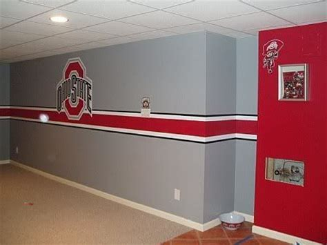 ohio state bedroom paint ideas pin by amy barger on will s stuff pinterest