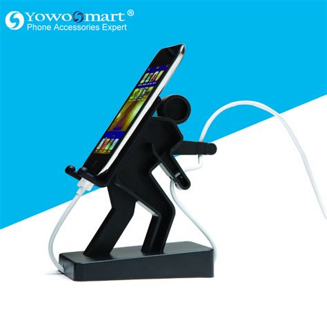 3d Stand Hercules Mobile Phone Holder Warna Acak Murah new arrival 3d stand lazy villain phone holder bed for iphone 5 5s ipod touch