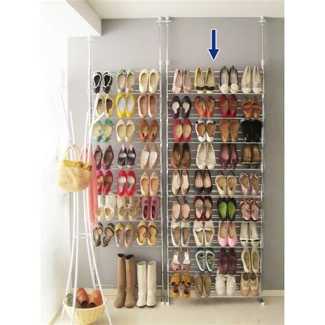 Tension Rod Shoe Rack by 7 Amazing Hacks Every Should
