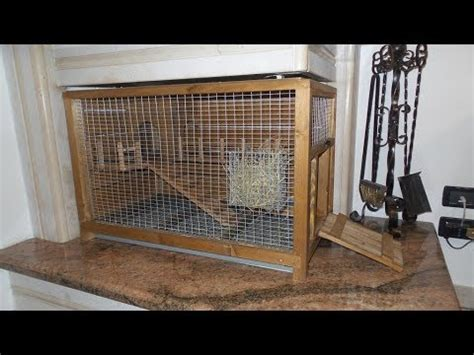 gabbie per conigli nani usate gabbia per conigli nani fai da te con materiale di