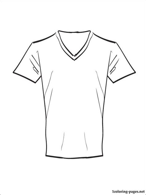 printable area on a t shirt t shirt coloring page to print out coloring pages