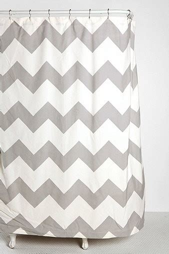 gray chevron shower curtains zigzag shower curtain gray contemporary shower
