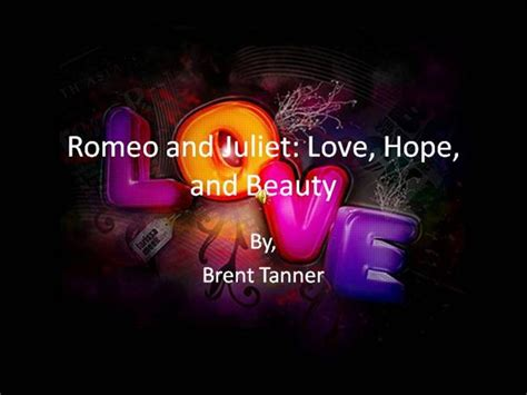 Romeo And Juliet English Project Final Authorstream Romeo And Juliet Powerpoint Template