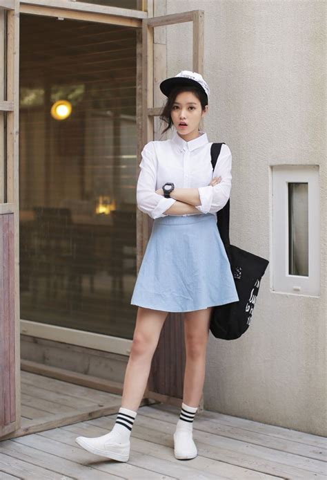 White Style Wardrobe by Top Korean Fashion Trends You Need In Your Summer Wardrobe Kore Media