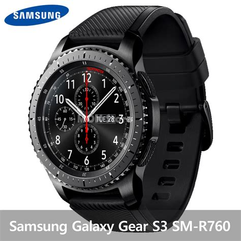 samsung galaxy gear s3 frontier sm r770 wifi 46mm smart stainless steel ebay