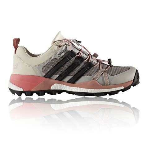 Pink Grey Shoes adidas terrex skychaser womens pink grey tex