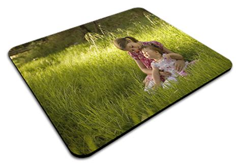 Personalised Mouse Mats by Personalised Polyester Mouse Mat Label