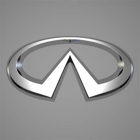 infinity car company infiniti logo by reticulum 3docean