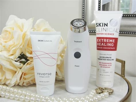 skinclinical light therapy anti aging device reviews skinclinical anti aging light therapy