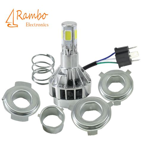led light bulbs for motorcycles 2015 new h4 led motorcycle headlight bulbs 3600lm m5