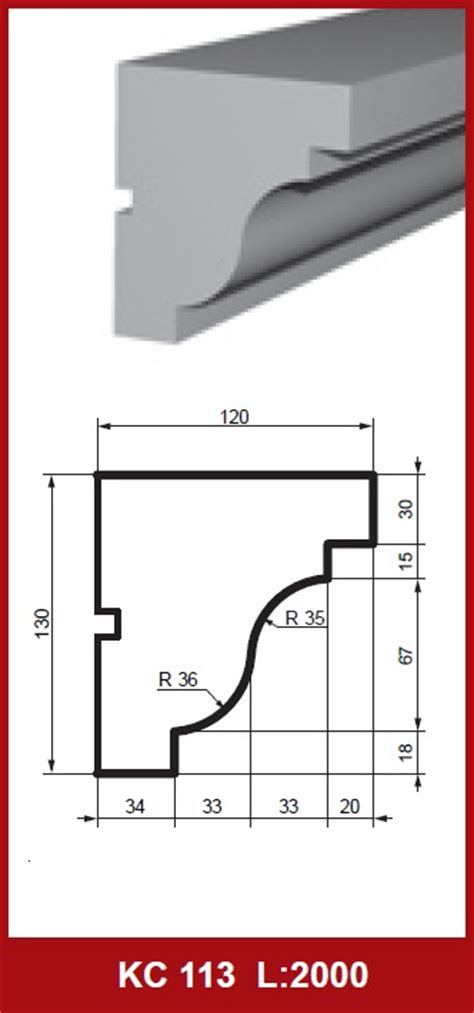 cornice dimensions cornice profile facade facades profile profile cornices