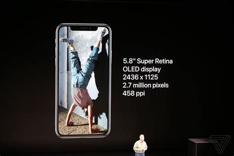 iphone xs  huge   xs max announced  verge