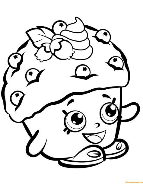 Coloring Box By Dimen Shop mini muffin shopkin season 1 coloring page free coloring