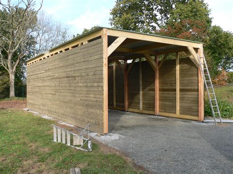 construction garage en bois construction garage en bois morlaix 2011 paugam