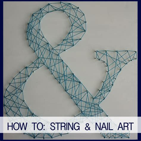 How To Make String And Nail - string nail becoming fab