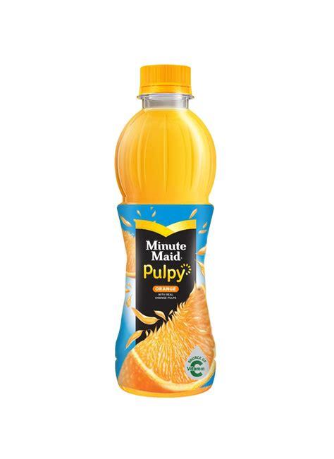 Minute Pulpy Orange Minuman by Minute Juice Pulpy Orange Btl 300 350ml Klikindomaret