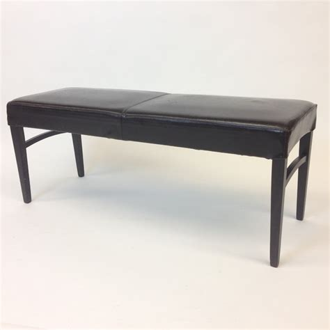 houzz benches brown leather bench contemporary indoor benches new