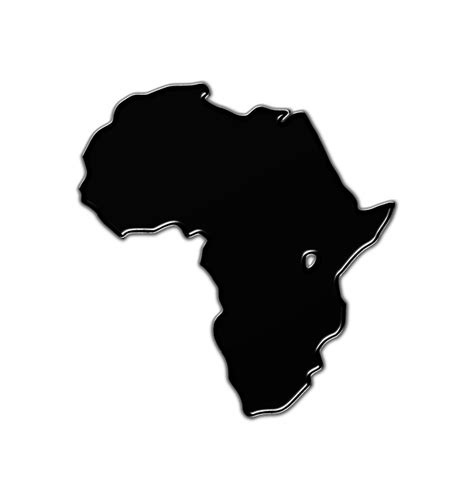Black Afrika4 free illustration africa map geography world free