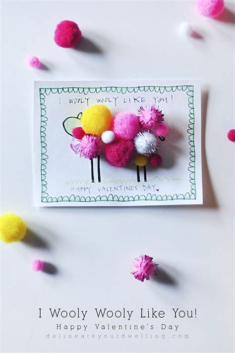 valentine s day crafts skip to my lou i wooly like you valentine s day printable skip to my lou