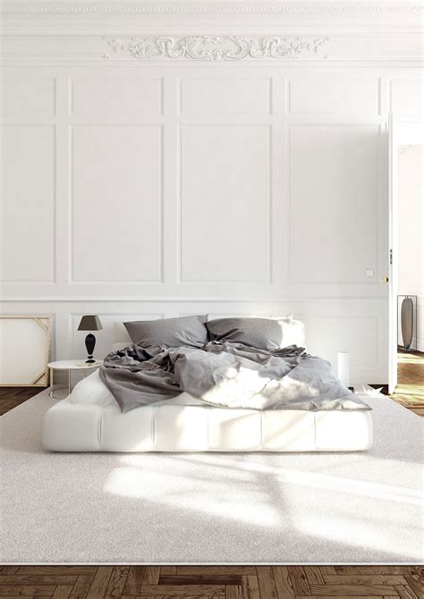 white bedrooms  exude calmness