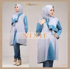 Gamis Khaira Grey Size S M khaira maroon baju muslim gamis modern