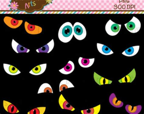 printable scary halloween eyes popular items for spooky eye on etsy