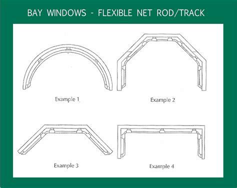 3 5 m curtain pole 5m net curtain rod kit flexible jago system ideal for