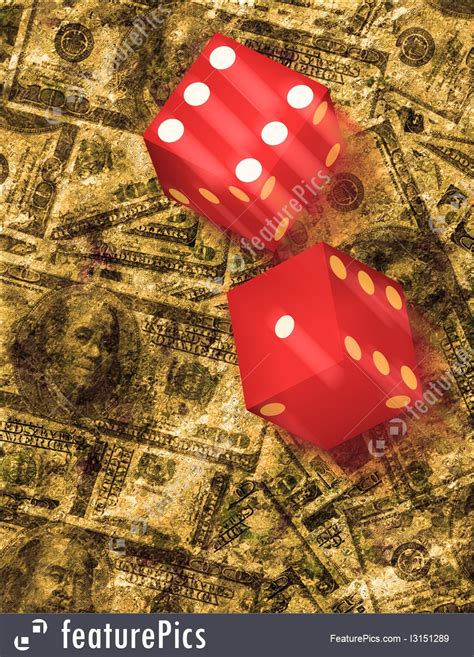 Dice Bank Roll 80s 12g And Dice Roll Stock Illustration