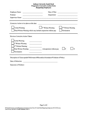 printable verbal warning template forms fillable